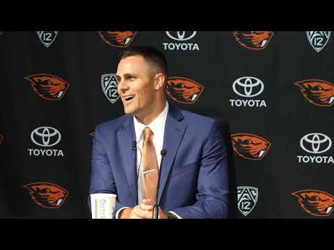 Oregon State Beavers - New Beaver Baseball coach Mitch Canham says he is home!
