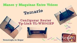 ¿Cómo configurar Router WiFi TP Link TL-WR841HP (Rompe Muros)? Tecnología de Hogar