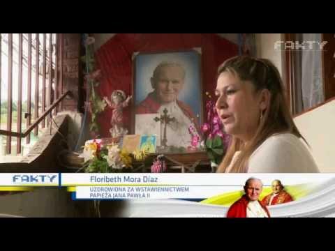 Uzdrowiona za wstawiennictwem Jana Pawła II gościła w naszej parafii