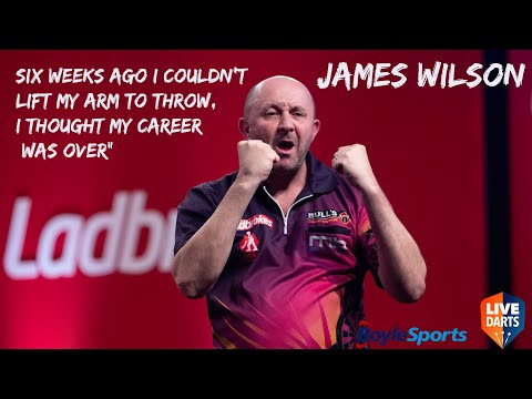 """James Wilson: """"Six weeks ago I couldn't lift my arm to throw, I thought my career was over"""""""