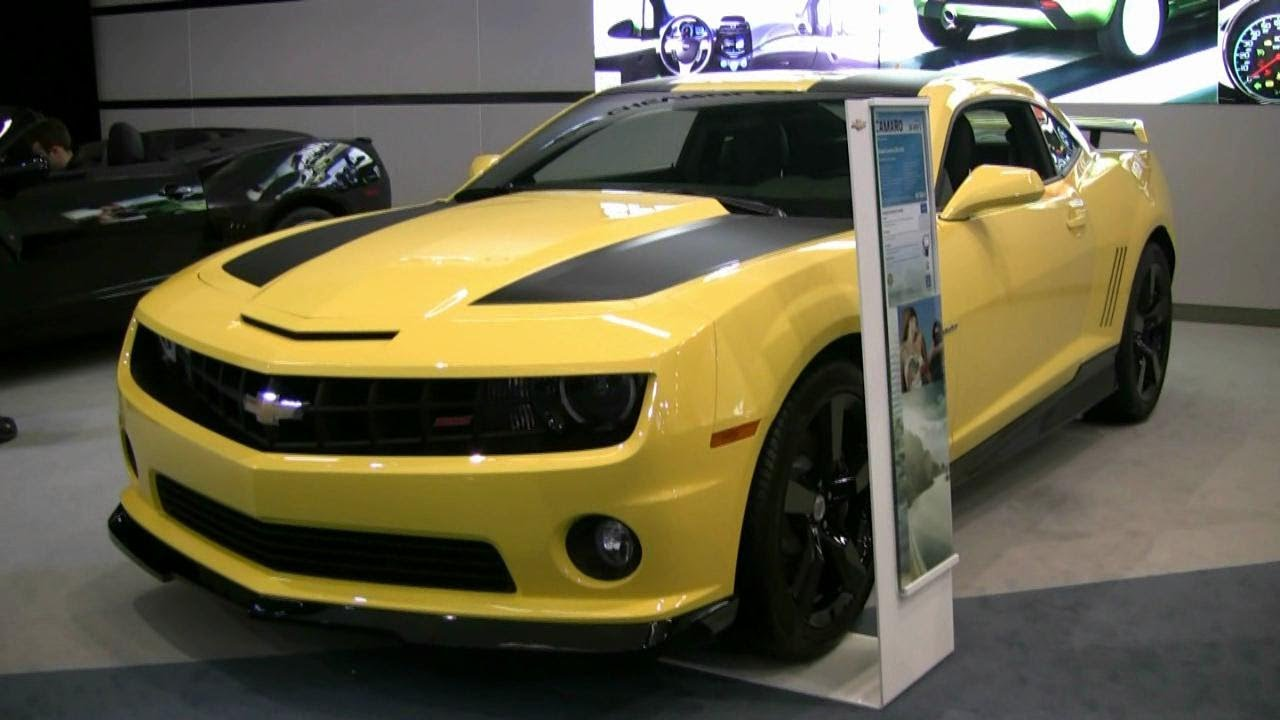 2012 Chevrolet Camaro Ss Transformers Edition Exterior And Interior At 2012 Montreal Auto Show Youtube