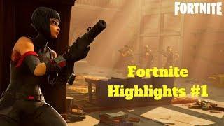 Zapętlaj Fortnite Highlights #1 - Saturnz | SaiLlama