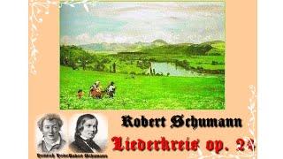 Schumann Liederkreis op  24 (Berg und Burgen schaun herunter - Heinrich Heine)
