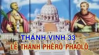 ĐÁP CA LỄ T PHERO & T PHAOLO _ TV 33. Lm Thái Nguyên