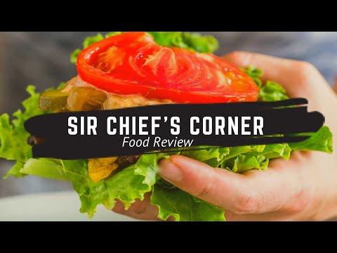 Sir Chief's Corner                     Food Review!                   VLOG 00020