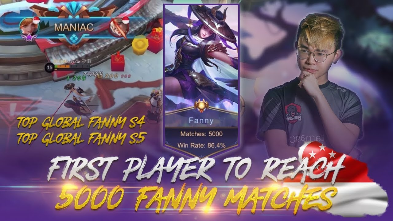 Zxuan's 5000TH match with Fanny after 2 years of training