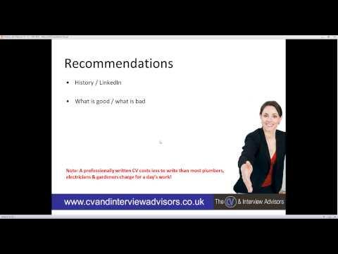 How to write a High Impact, Interview Winning CV Webrecruit