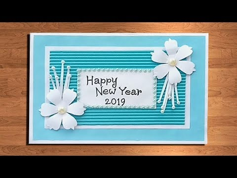 how to make new year card new year pop up card handmade