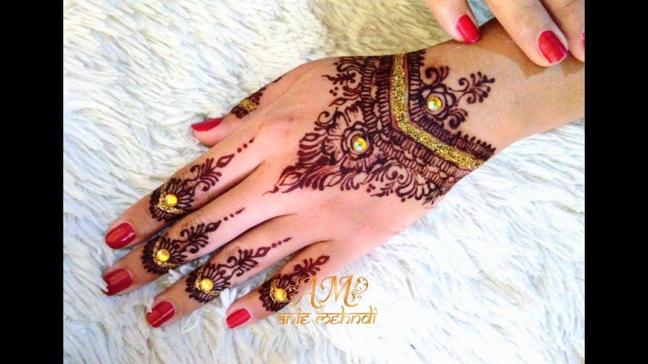 Finishing Maroon Henna Simple Henna Design Tapi Mewah Untuk Pengantin Henna Design 90