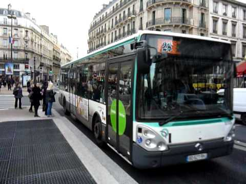 paris rue st lazare irisbus citelis bus no ratp 5159 ligne 26 youtube. Black Bedroom Furniture Sets. Home Design Ideas