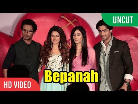 UNCUT - बेपनाह Bepanah New Serial Launch | Jennifer Winget, Sehban Azim, Harshad Chopra | Colors Tv