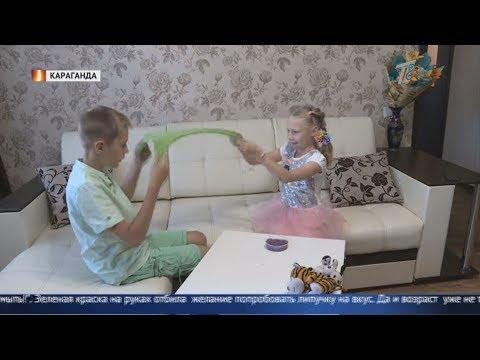 Особо опасен! Можно ли давать детям играть со слаймами?