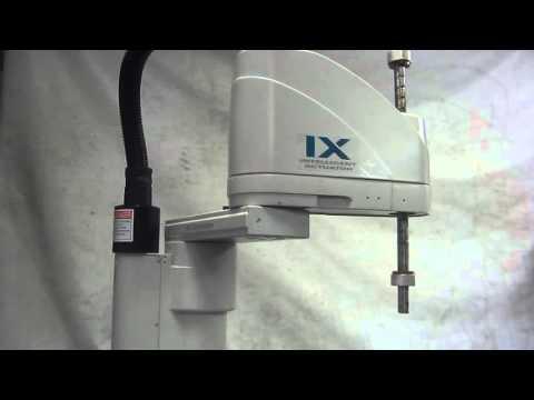 IAI IX-NNN5020-5L-T1/XSEL-KX-NNN5020-N1-EEE-2-2  IX SCARA Robot / Controller 動作確認