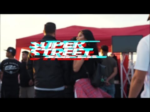 2018 vlog super street (illegal street race/ cars/ Lamborghini/ tuners/ built cars/ YouTubers)