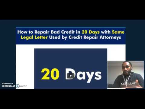 How To Remove Negative Items From Credit Report Fast Youtube