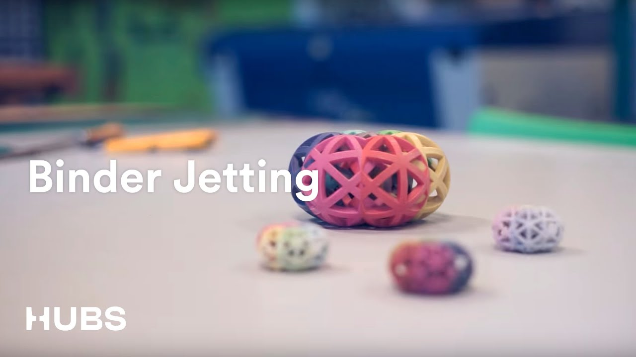 3d printing technologies binder jetting youtube