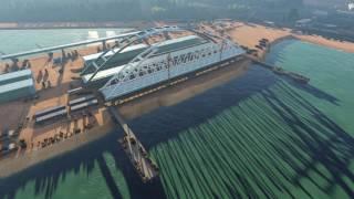 Керченский мост: 3D визуализация сборки арок