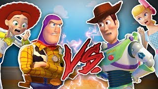 🤠 WOODY vs BUZZ 🚀 INTERCAMBIAN VIDAS 🔄 SALE MAL 😱 Juguetes Fantásticos Toy Story 4