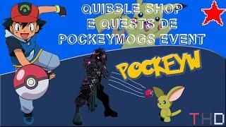 【AQW】Novo Quibble Shop e Guia das Quests do Evento de PockeyMogs (2016)