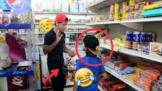 لو خيروك #8 نجم يبيع بشارع خليت مروان يشتري اي شي   كرار الساعدي