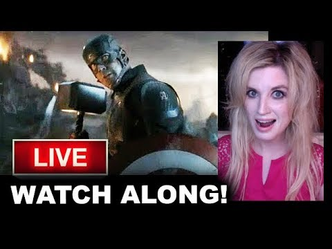 Avengers Endgame WATCH ALONG PARTY!!
