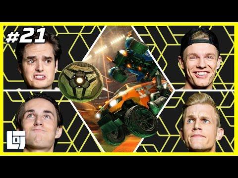 Rocket League met Milan en Enzo vs. Don en Link | XL Battle | LOGS1 #21