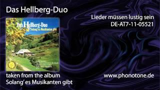 Das Hellberg-Duo - Das Hellberg-Duo - Lieder müssen lustig sein