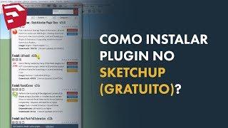 #11 Como Instalar Plugin Sketchup (GRATUITO)