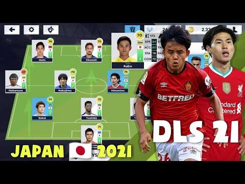 Đội hình NHẬT BẢN cực chuẩn trong Dream League Soccer 2021