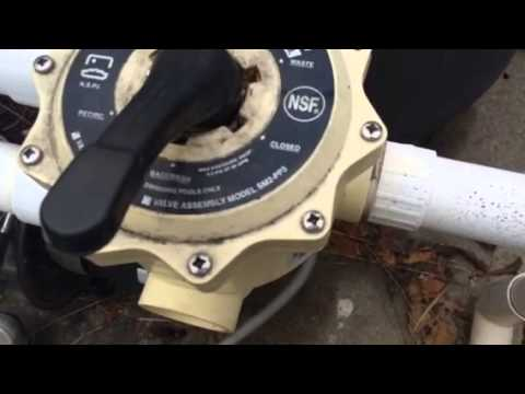 Pool Filter Multiport Valve Settings Youtube