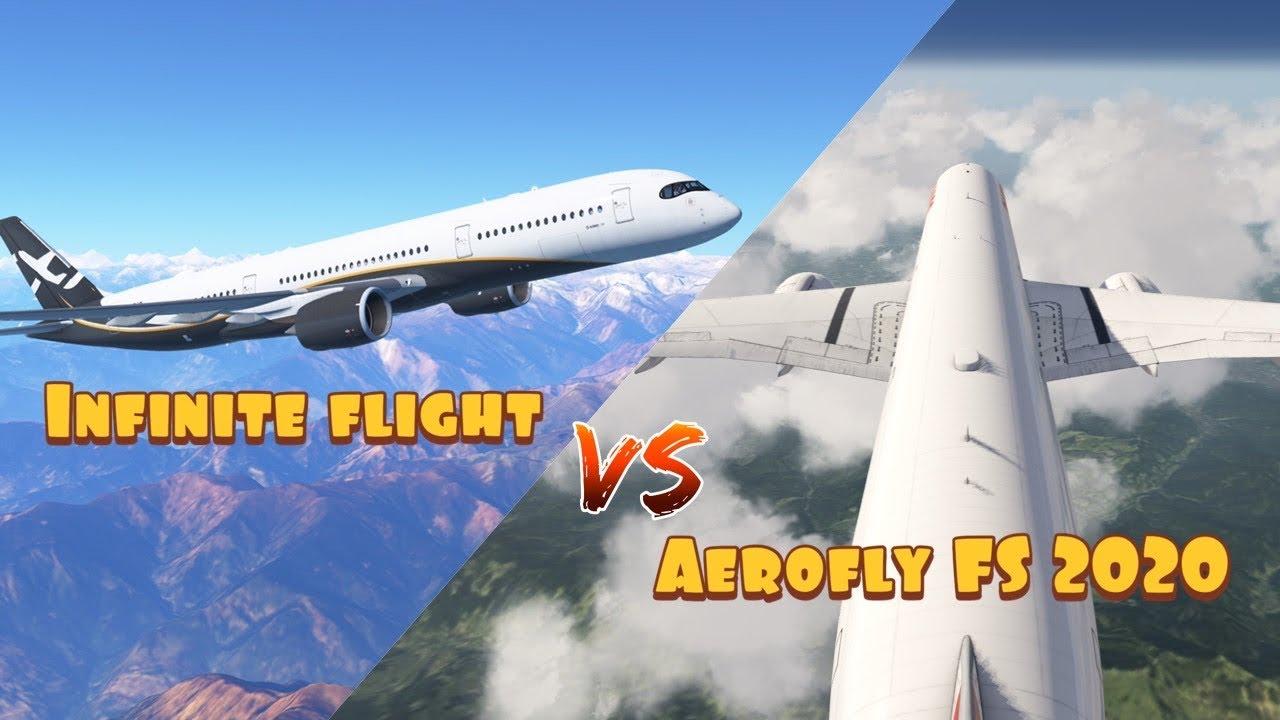 Infinite flight VS Aerofly FS 2020   The battle for the ...
