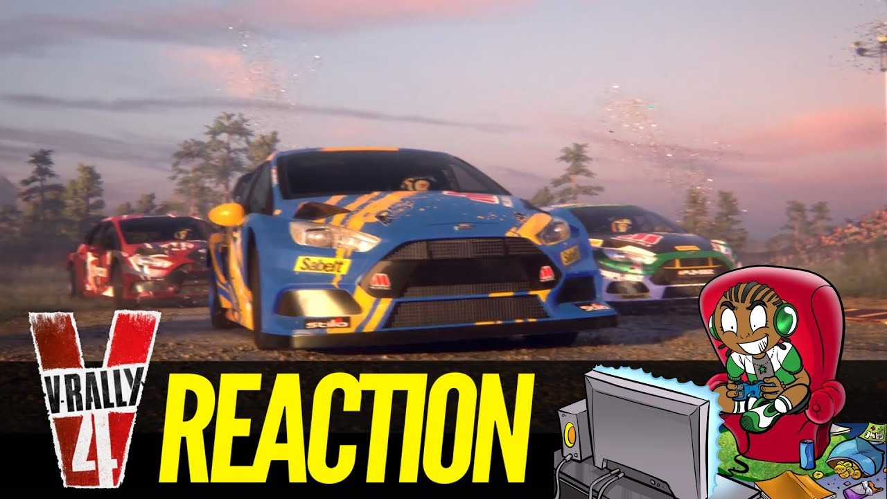 v rally 4 trailer reaction coming to ps4 xbox one nintendo. Black Bedroom Furniture Sets. Home Design Ideas
