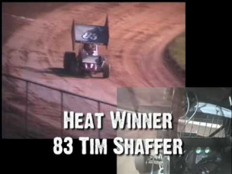 West Virginia Motor Speedway Sprint Car Heat #1 7-10-10