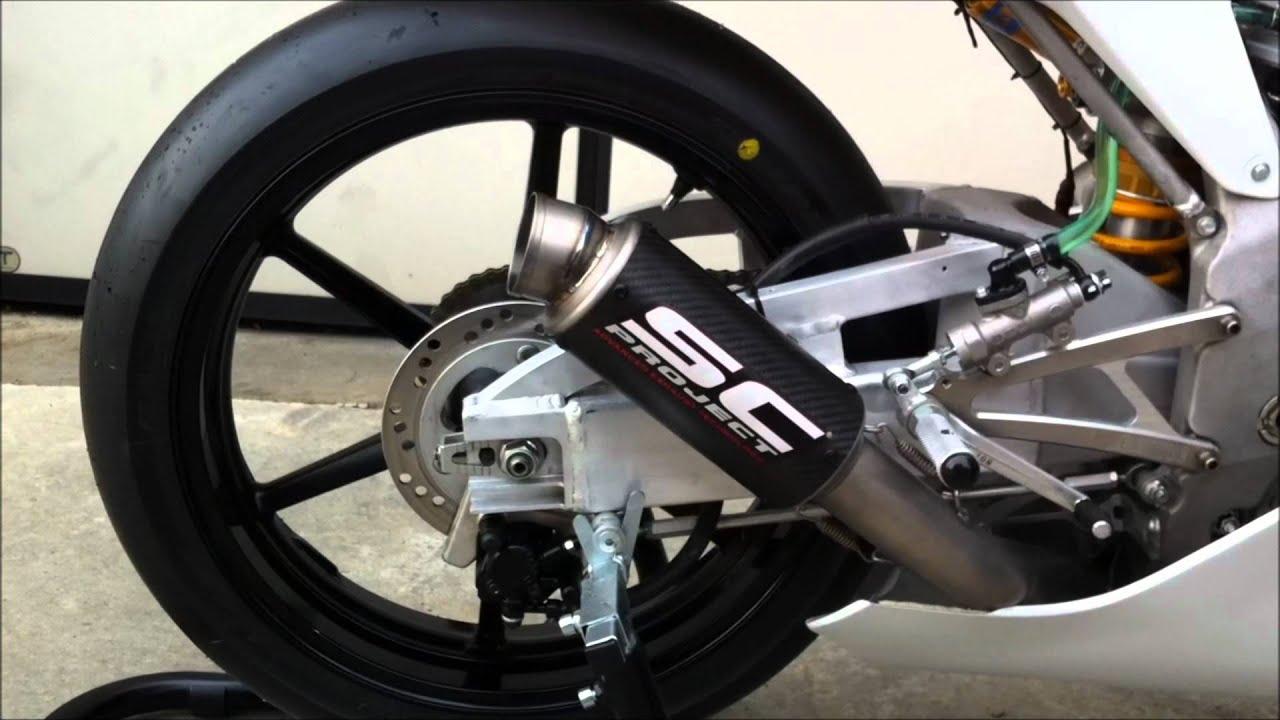 Moto3 Exhaust Sound Sc Project Exhaust Moto3 Team Mz