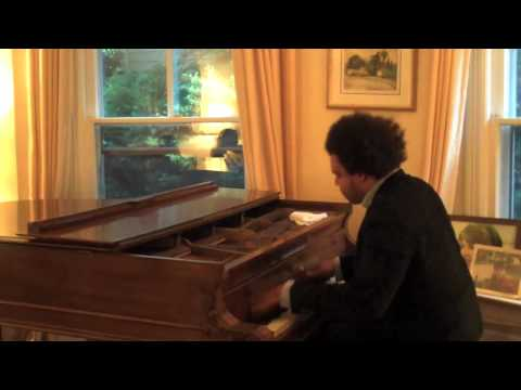 Eric Lewis Explodes Pianos Keys in DC