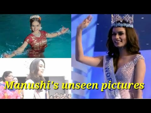 Miss world Manushi Chhillar's unseen pictures