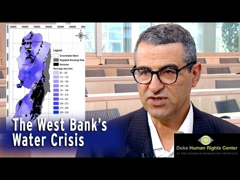 Amer Marei   Palestinian-Israeli Water Conflict