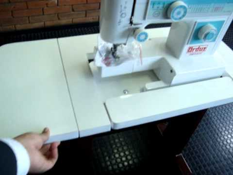 Mueble maquina de coser 59 youtube for Diseno de muebles de maquinas de coser