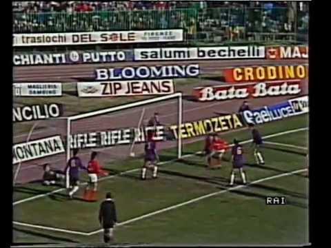 1986/87, Serie A, Fiorentina - Brescia 4-3 (18)