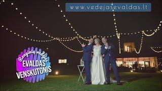 Wedding party with Rowan (UK) & Inesa (LT) by Party Host Evaldas Venskutonis (4K)