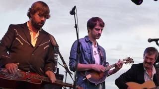 """Fireball"" Larry Keel Aiken Experience w Jay Starling and Andy Thorn"