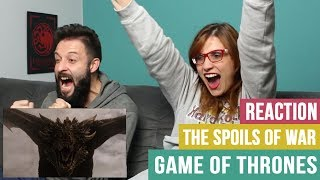 😱REACTION/REAÇÃO - GAME OF THRONES S07E04 - THE SPOILS OF WAR
