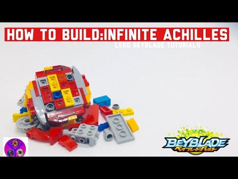 HOW TO BUILD: LEGO INFINITE ACHILLES! | LEGO Beyblade tutorials | #BeybladeBurstSuperKing