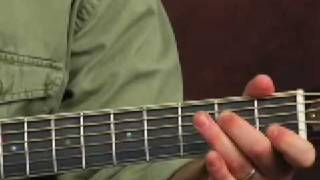 Learn acoustic blues lead guitar licks and solo playing