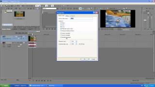 How To Make Your Video Full Screen In Sony Vegas - Easy Tutorial