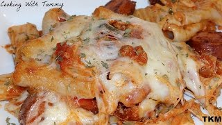 How To Make Baked Ziti With Meat And Sausages