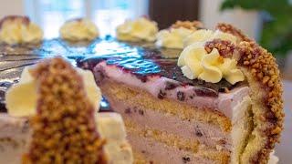 독일 블루 베리 쿼크 케이크 | German blueb…