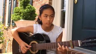 Cewe Cantik Imut Pandai Main Gitar   Asal Kau Bahagia   Armada Fingerstyle Guitar Cover Lanvy
