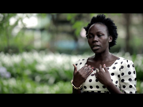 Christine Muyuma - Transform Nutrition Champion 2016 and Uganda SUN Civil Society Alliance