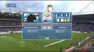 Sampdoria 2 - 2 Parma Calcio 1913